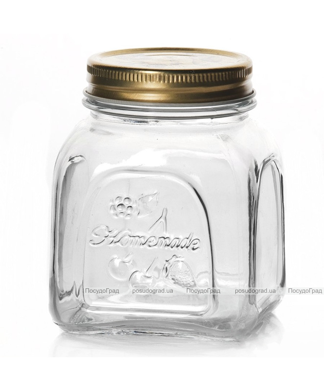 Банка для продуктов Homemade 500мл с металлической крышкой