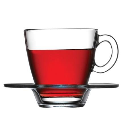 Чайный набор Aqua 6 чашек 215мл и 6 блюдец