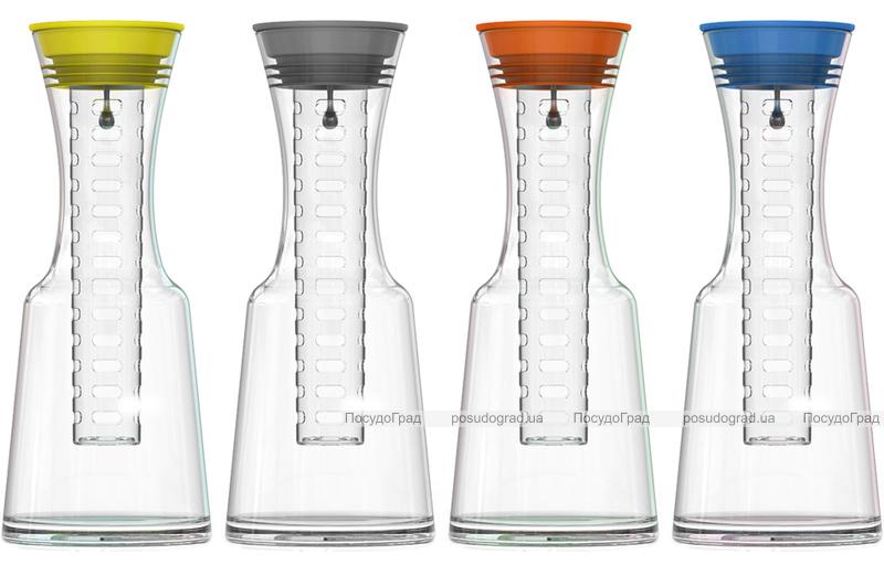 Графин ZestGlass 1100мл для лимонада, вина и освежающих фруктово-ягодных напитков