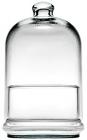 Конфетница стеклянная Patisserie с высоким колпаком 20см
