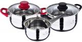 Набор кухонной посуды Piesse Cardin Eclat 2 кастрюли 2.3л, 3.3л и ковш 1.6л
