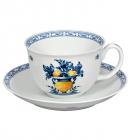 Чайна пара Vista Alegre VIANA чашка 270мл з блюдцем