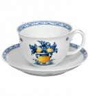 Чайна пара Vista Alegre VIANA чашка 350мл з блюдцем
