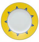 Набор 4 фарфоровых тарелки Vista Alegre CASTELO BRANCO суповые Ø21см