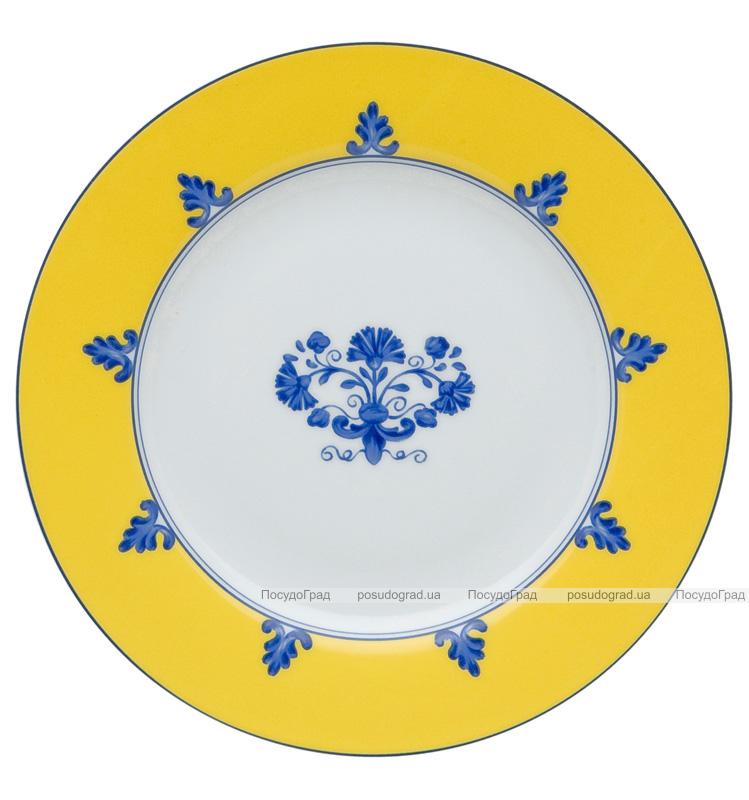 Набор 4 фарфоровых тарелок Vista Alegre CASTELO BRANCO десертные Ø21см
