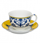 Чайная пара Vista Alegre CASTELO BRANCO чашка 350мл с блюдцем