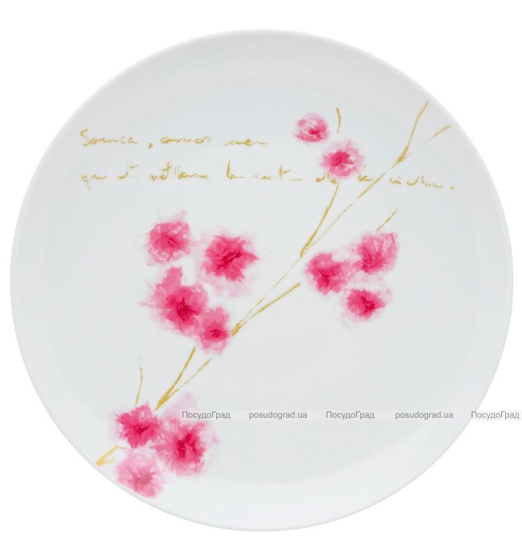 Набор 4 фарфоровых тарелки Vista Alegre ARIGATO обеденные Ø27.5см