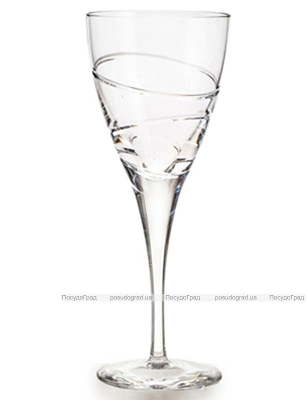 Набор 4 хрустальных бокала Atlantis Crystal ELICA 315мл для воды