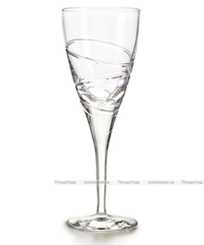 Набор 4 хрустальных бокала Atlantis Crystal ELICA 215мл для красного вина