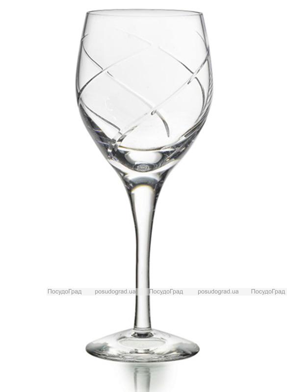 Набор 4 хрустальных бокала Atlantis Crystal VIOLINO 310мл для белого вина