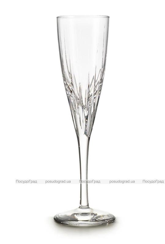 Набор 4 хрустальных фужера Atlantis Crystal FANTASY 125мл для шампанского