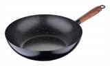 Сковорода-вок Renberg Majori Ø24см, вуглецева сталь + антипригарне покриття