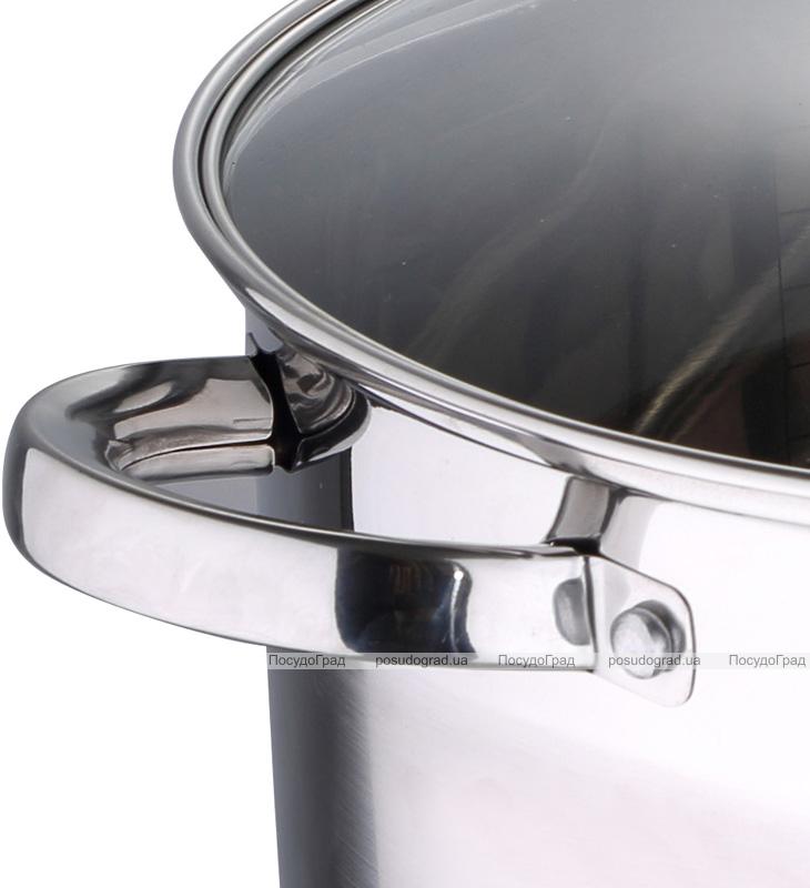 Кастрюля большая Renberg Oxford 9.5л со стеклянной крышкой и мерной шкалой