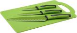 Набір 3 кухонні ножі Renberg Leiden + пластикова дошка