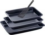 Набор 3 формы для выпечки Renberg + нейлоновая лопатка