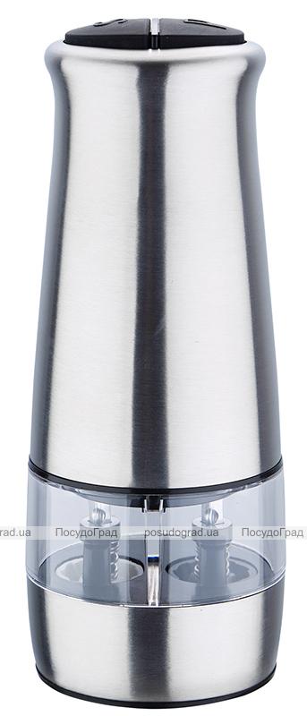 Мельница для специй электрическая Renberg Pepper 17.1см, двойная