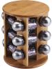 Набор для специй Renberg Relish 12 емкостей и бамбуковая подставка