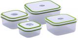 Набор пищевых пластиковых контейнеров Renberg Food Pack 4 ёмкости с крышками