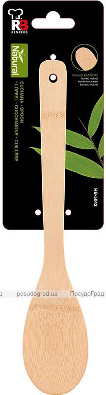 Ложка кухарська Renberg Natural life 30см, бамбук
