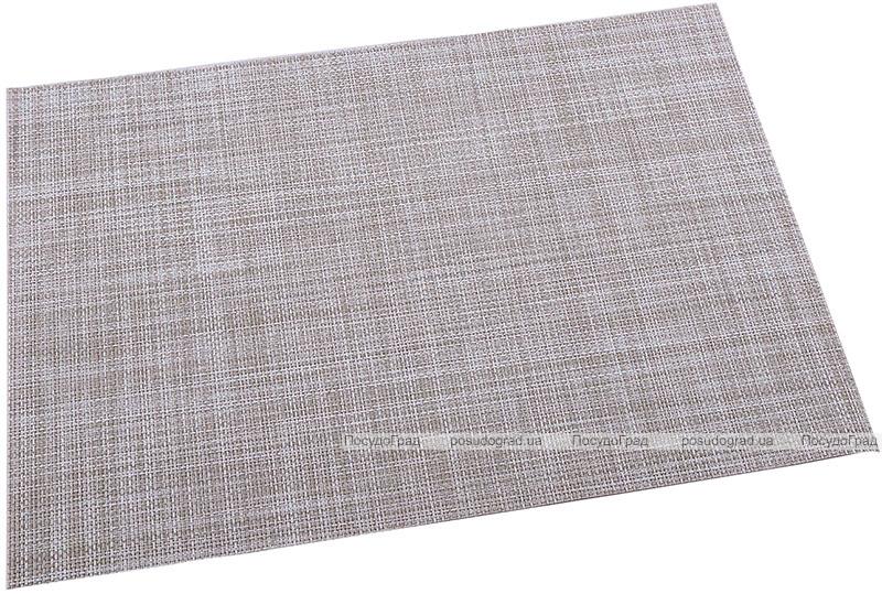 Коврик сервировочный Renberg Vinyl Rug 30х45см, кремово-серый винил