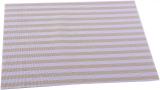 Килимок сервірувальний Renberg Vinyl Rug 30х45см, вініл, бежева смуга