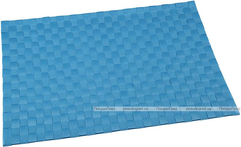 Килимок сервірувальний Renberg Ferrara 30х45см з поліестеру, блакитний