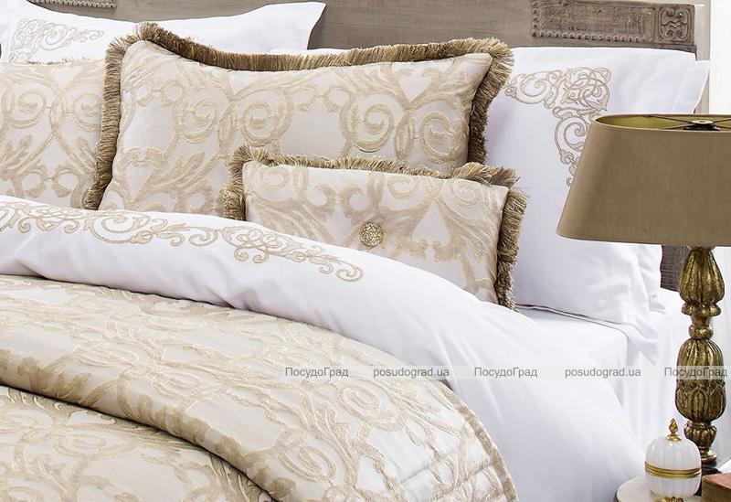 Покрывало Pepper Home Doris 270х260см с наволочками и декоративными подушками, жаккард