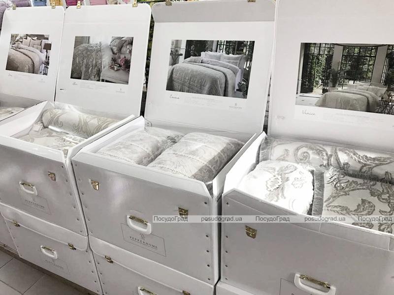 Покривало Pepper Home Belaris Tas 270х260см з наволочками і декоративними подушками, жаккард