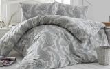 Комплект постельного белья Altinbasak Fellice Yesil Евро, ранфорс