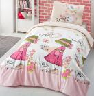 Детское постельное белье Altinbasak Nice Day Pink, ранфорс