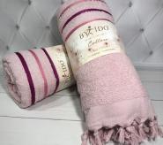 Рушник пляжний By IDO Pink 90х170см, махра
