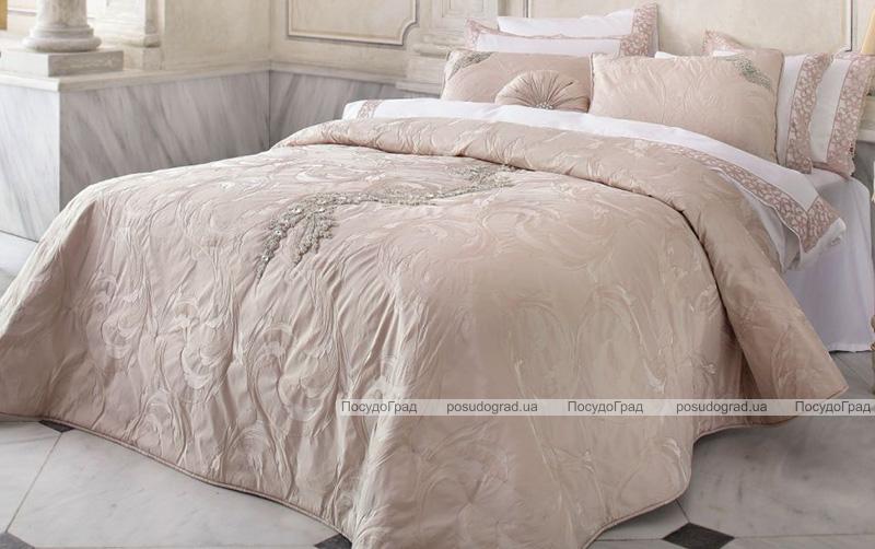 Покрывало Pepper Home Gloria 270х260см с наволочками и декоративной подушкой, жаккард