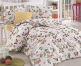 Комплект постельного белья Altinbasak Butterfly Somon Евро, ранфорс