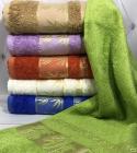 Набор 6 банных бамбуковых полотенец By IDO Divrigi 70х140см