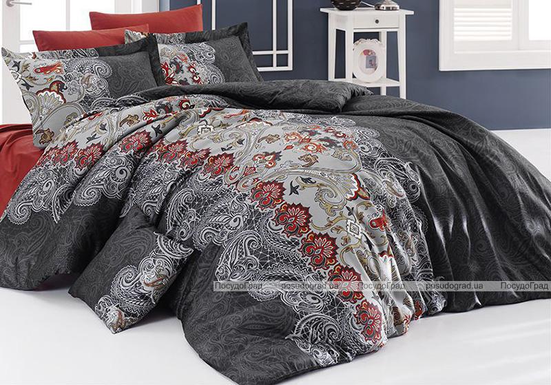 Комплект постельного белья Nazenin Charissa Kiremit Евро (4 наволочки), сатин