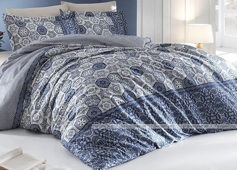 Комплект постельного белья Nazenin Margarita Royal Евро (4 наволочки), сатин