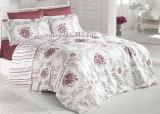 Комплект постельного белья Nazenin Valeriya Kiremit Евро (4 наволочки), сатин