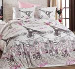 Комплект постельного белья Nazenin PARIS NR (евро), ранфорс