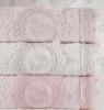 Набор 6 полотенец Pupilla Olivyum 3D с гипюром 70х140см (банные), бамбук