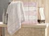 Набор 6 полотенец Pupilla Alvin 3D с гипюром 50х90см (лицевые), бамбук