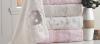 Набор 6 полотенец Pupilla Beyza 3D с гипюром 70х140см (банные), бамбук