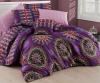 Комплект постельного белья Nazenin Hula-Pembe Евро, ранфорс
