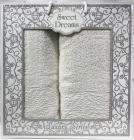 Набор 2 махровых полотенца Sweet Dreams M8 (50х90 и 70х140см) молочные