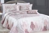 Покрывало Pepper Home MIA Pink 270х260см с наволочками и декоративными подушками, сатин