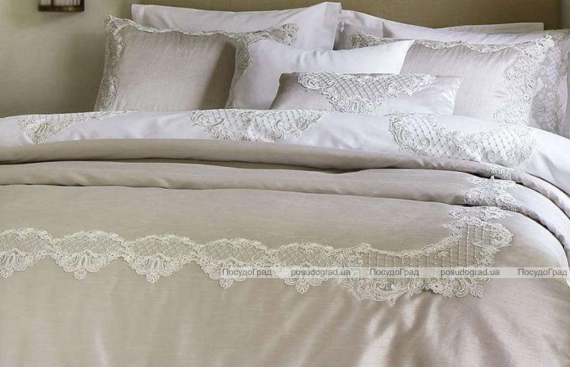 Покрывало Pepper Home Melinda 270х260см с наволочками и декоративной подушкой, жаккард