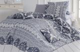 Комплект постельного белья Nazenin Suano Gri Евро, ранфорс