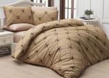 Комплект постельного белья Polo Сlub 006 бежевый Евро, ранфорс