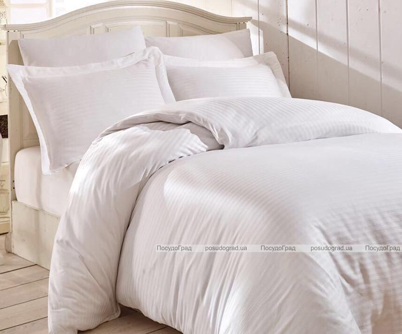 Комплект постельного белья Nazenin Home Евро белый (4 наволочки), сатин