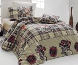Комплект постельного белья Nazenin College (полуторный), ранфорс