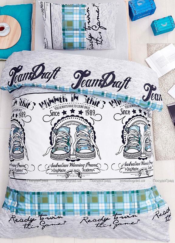 Детское постельное белье Altinbasak Molly Yesil, ранфорс